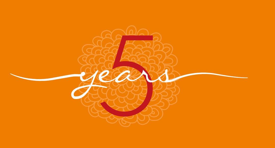 5 Jahre Yoga by Blum!